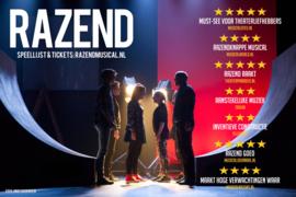 Razend de musical - DVD (inclusief verzendkosten, België €14,80)