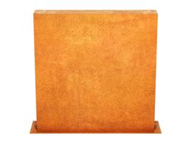 Corten | Muurpaneel C2 | 90x15x90cm