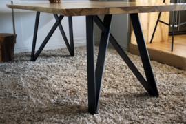 Metalen onderstel voor tafel - Trapani - Zwart