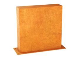 Corten | Muurpaneel B1 | 60x15x60cm