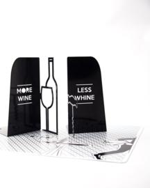 Boekensteun - Wijn - set van 2
