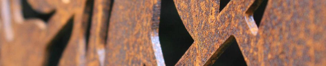Corten scherm, steeltrends