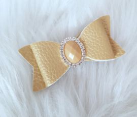 Haarstrik Glam Gold