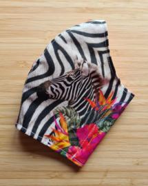 Mondkapje Zebra Volwassenen