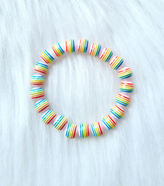 Armbandje streep regenboog
