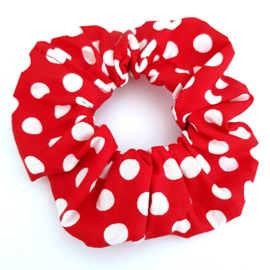 Scrunchie Funky Red