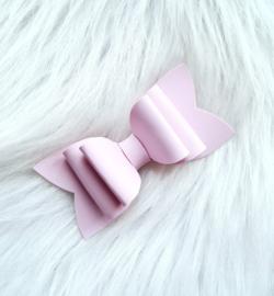 Haarstrik uni roze