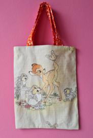 Retro kindertasje Bambi