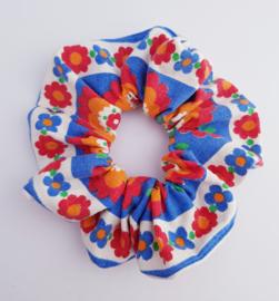 Scrunchie Retro Flower Holland