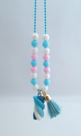 Kinderketting Spekkie blauw