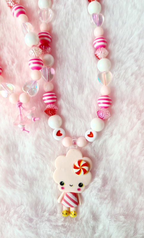 Kinderketting  Cookie Pink