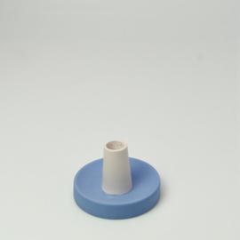 Kandelaar hoog Kobalt Blauw - Studio Harm en Elke