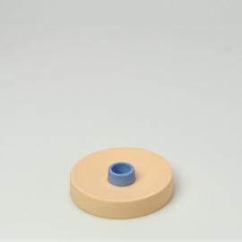 Kandelaar single Oranje - Studio Harm en Elke