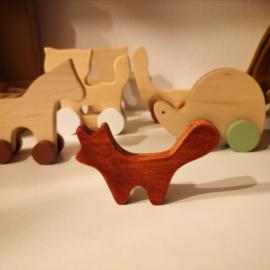 Houten Vos - Pinch Toys