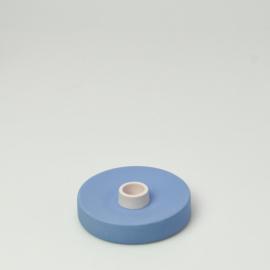 Kandelaar single Kobalt Blauw - Studio Harm en Elke