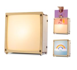 Wissellamp + 1 gratis afbeelding naar keuze, inclusief LED
