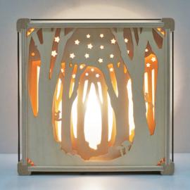 Zwischen den Bäumen |Lampe ohne Name