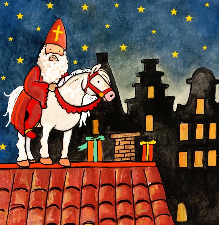Sinterklaas   Losse afbeelding (Grote Wissellamp)