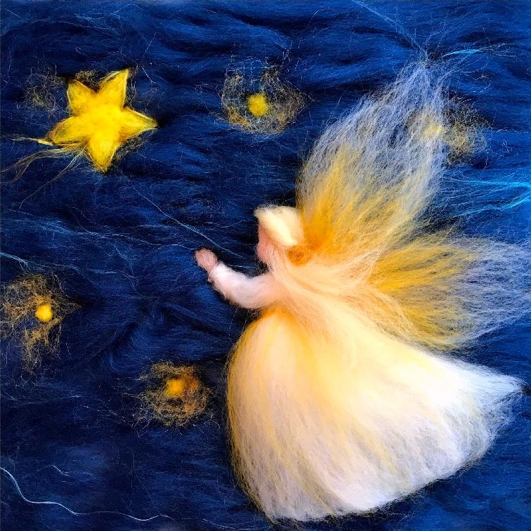 Engel met ster