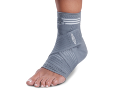 Strapping elastic ankle
