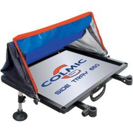 Colmic aluminium side tray 650 + cap
