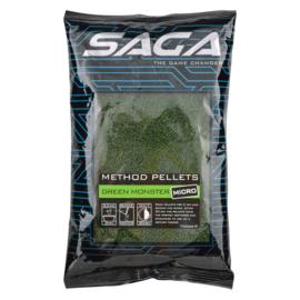 Saga Method micro pellets green