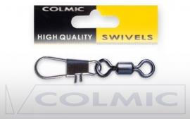 Colmic  Rolling swivel  met interlock snap