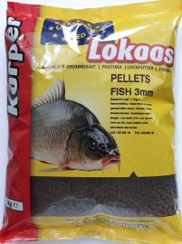 Champion feed pellets fish