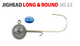 Spro Long & Round Jighead - Jig22   size 1