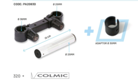 Colmic horizontal connector