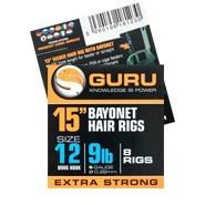 Guru 15'' bayonet hair rigs