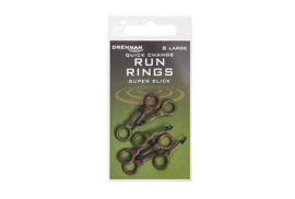 Drennan quick change run rings super slick: medium