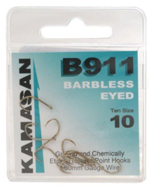 Kamasan B911  eyed  (Barbless)
