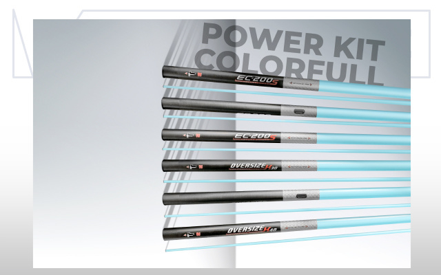 Colmic Powerkit EC-200 hyper + side pula (Colorfull)