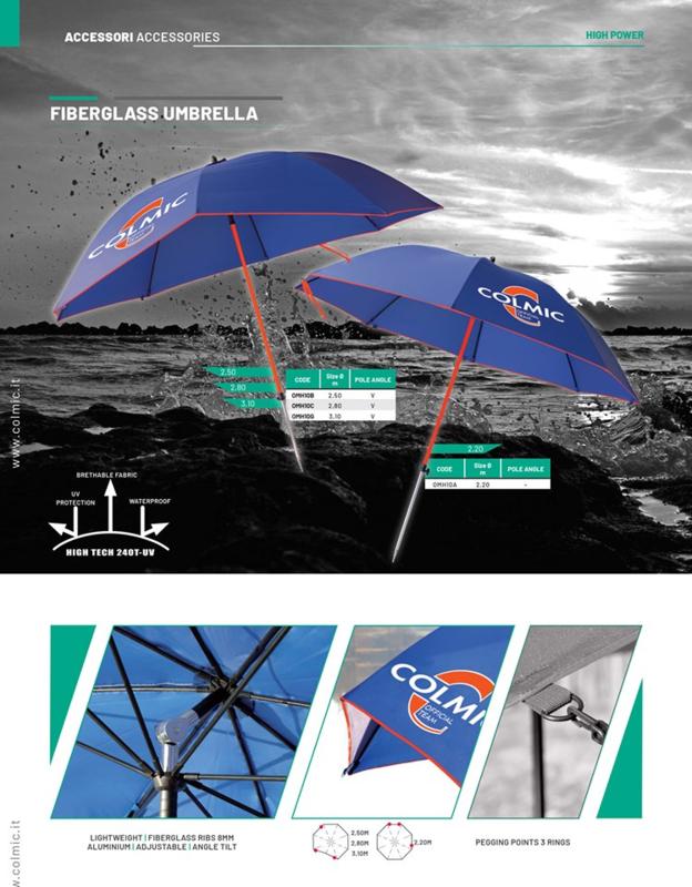 Colmic Superior class umbrella 2,8m