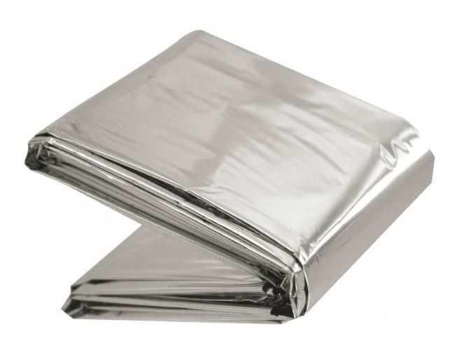 Aluminium reddingsdeken