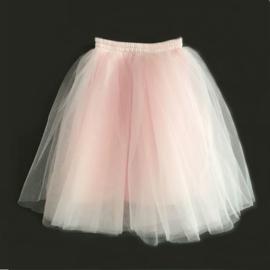 Tule rok meisje roze 50cm