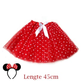 Minnie Mouse tutu dames 45cm