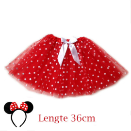 Minnie Mouse tutu dames 36cm