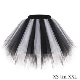 Super tutu zwart-wit
