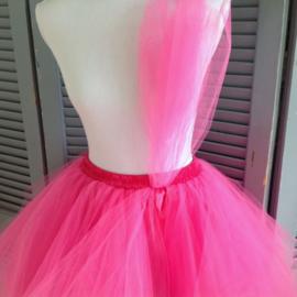 Super tutu fuchsia roze
