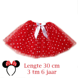 Minnie Mouse tutu kind 30cm