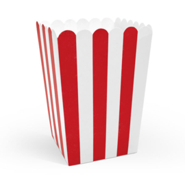 Popcornbeker 6 stuks