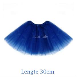 Blauwe tutu kind 30cm