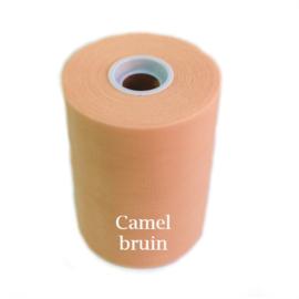Tule rol camel bruin 91m