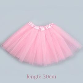 Roze tutu kind 30cm