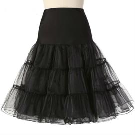 Zwarte petticoat