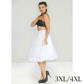 Petticoat wit dames 3xl/4xl