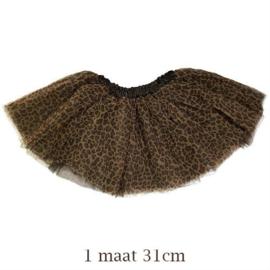 Luipaard tutu 31 cm