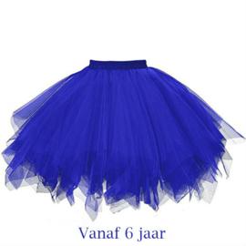 Supertutu meisje blauw